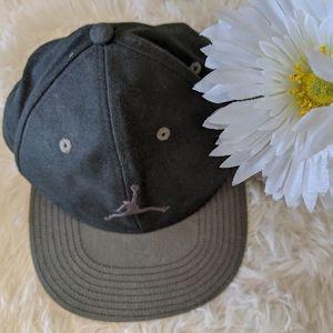 Jordan Youth Snapback Black & Gray Boy's Cap